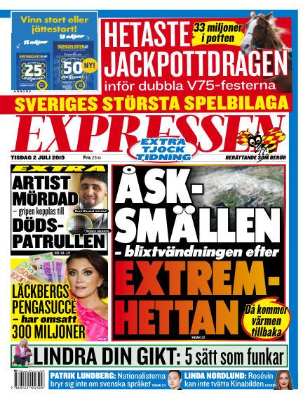 Expressen July 02, 2019 00:00