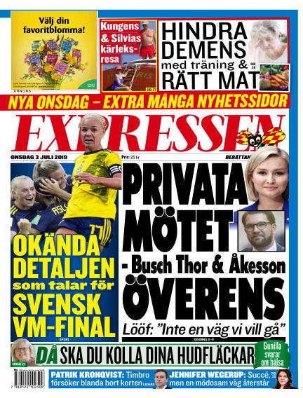 Expressen July 03, 2019 00:00