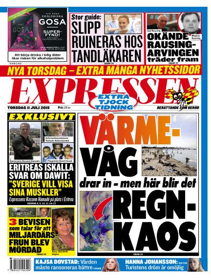 Expressen July 11, 2019 00:00
