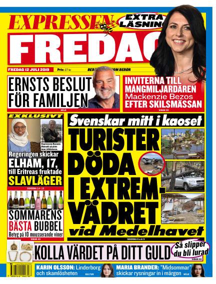 Expressen July 12, 2019 00:00