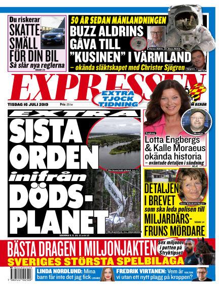 Expressen July 16, 2019 00:00