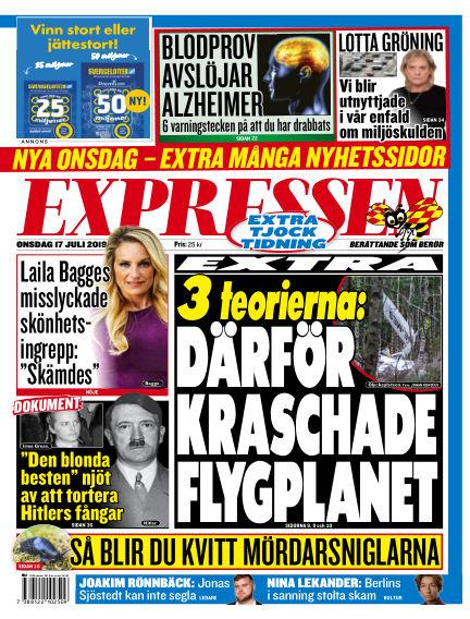 Expressen July 17, 2019 00:00