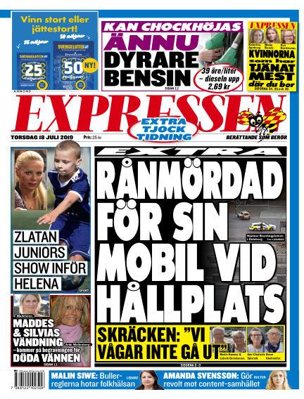 Expressen July 18, 2019 00:00