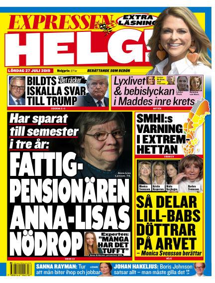 Expressen July 27, 2019 00:00