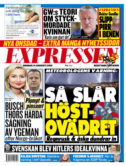 Expressen August 14, 2019 00:00