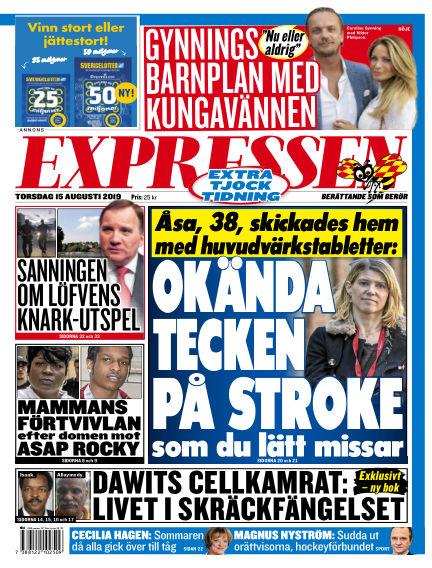 Expressen August 15, 2019 00:00