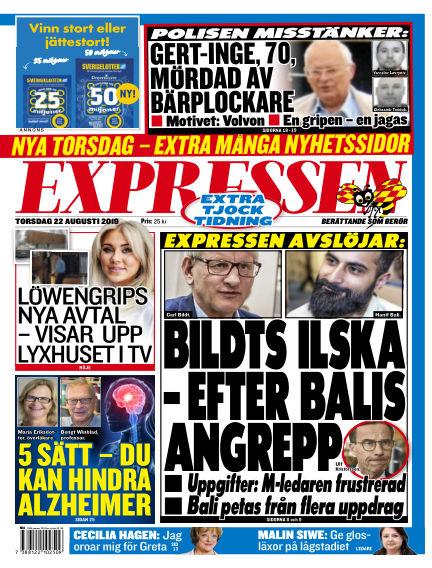 Expressen August 22, 2019 00:00