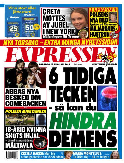 Expressen August 29, 2019 00:00