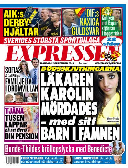 Expressen September 02, 2019 00:00