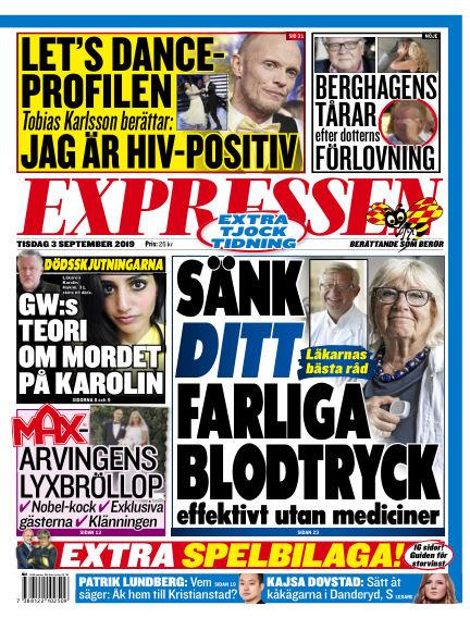 Expressen September 03, 2019 00:00