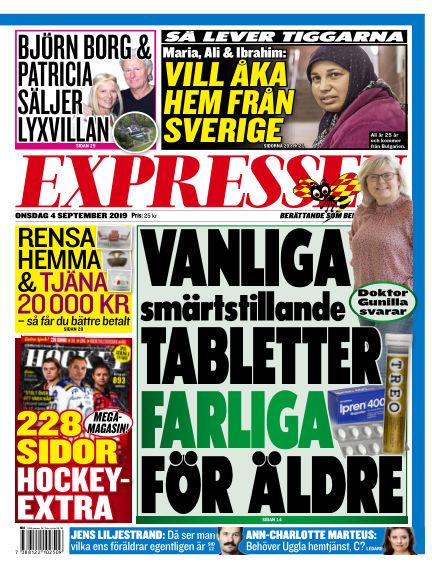 Expressen September 04, 2019 00:00