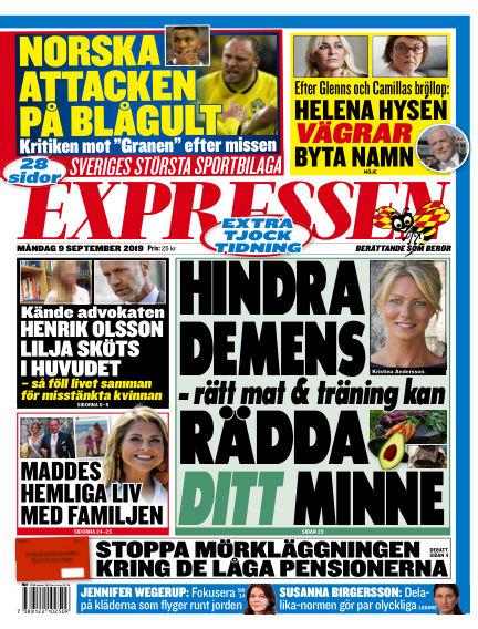 Expressen September 09, 2019 00:00