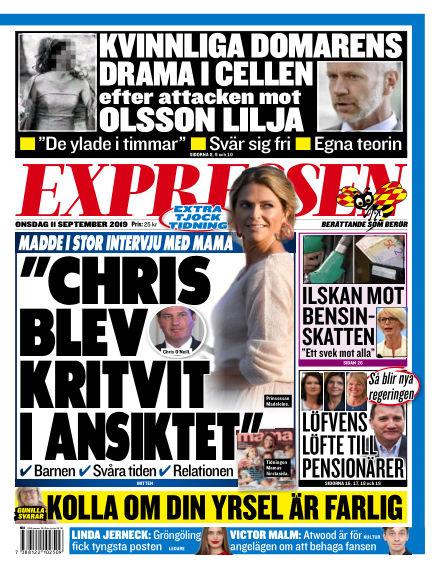 Expressen September 11, 2019 00:00