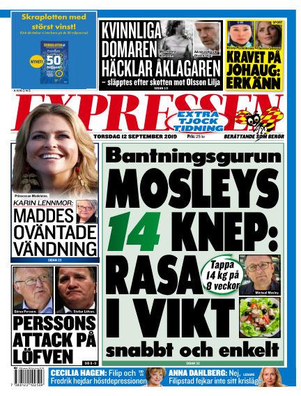 Expressen September 12, 2019 00:00