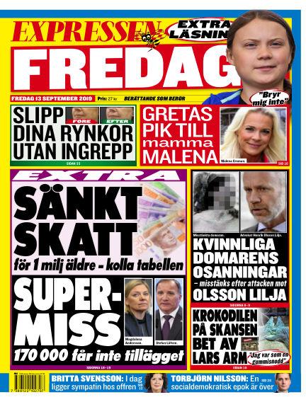 Expressen September 13, 2019 00:00