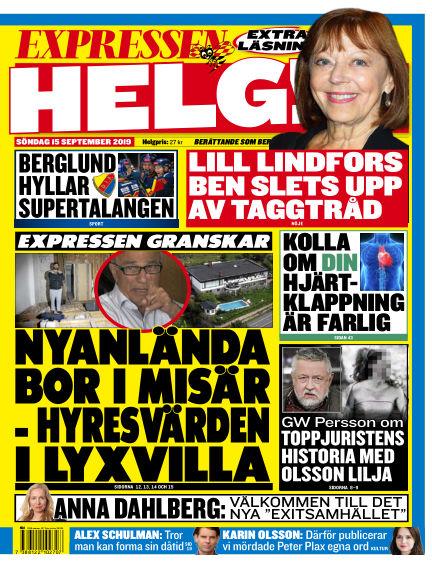Expressen September 15, 2019 00:00