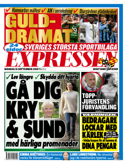Expressen September 16, 2019 00:00