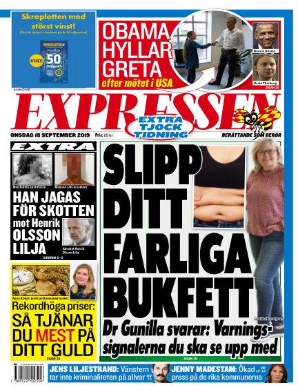 Expressen September 18, 2019 00:00