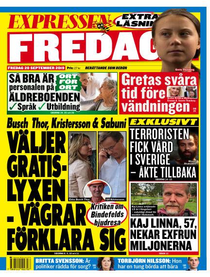 Expressen September 20, 2019 00:00