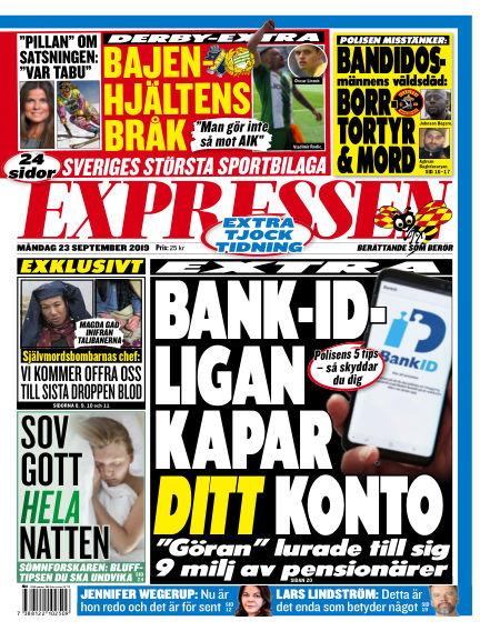 Expressen September 23, 2019 00:00