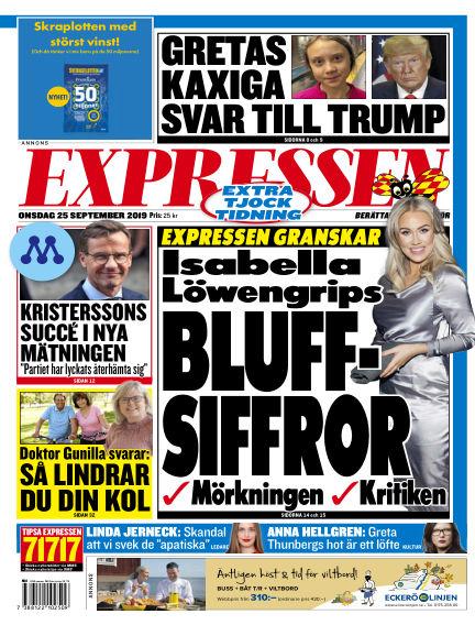 Expressen September 25, 2019 00:00