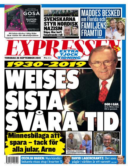 Expressen September 26, 2019 00:00