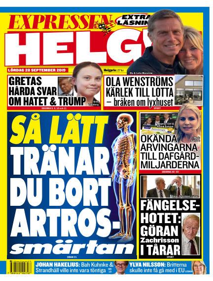Expressen September 28, 2019 00:00