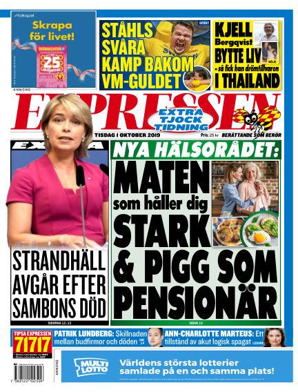 Expressen October 01, 2019 00:00