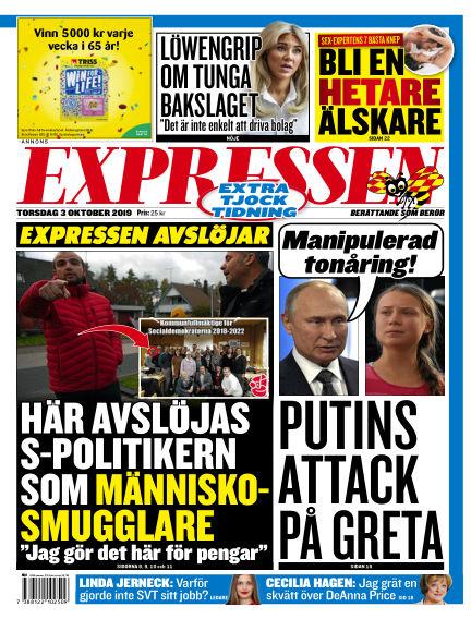 Expressen October 03, 2019 00:00