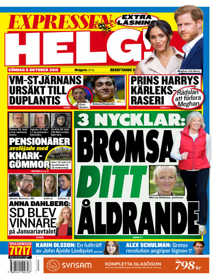 Expressen October 06, 2019 00:00