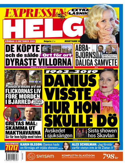 Expressen October 13, 2019 00:00