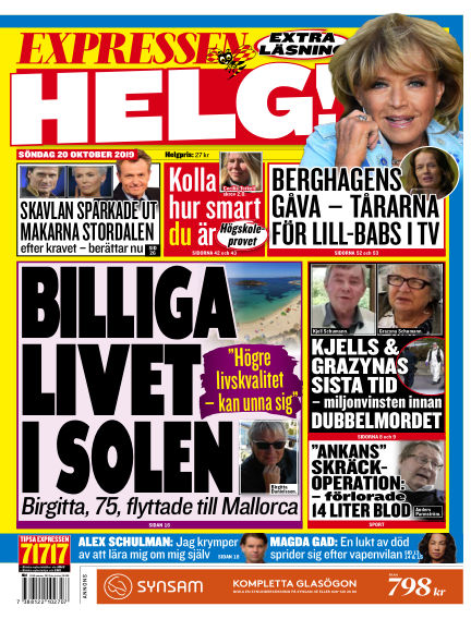 Expressen October 20, 2019 00:00