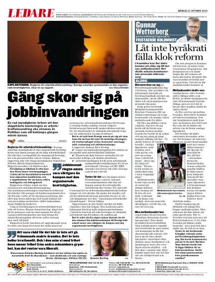 Expressen October 21, 2019 00:00
