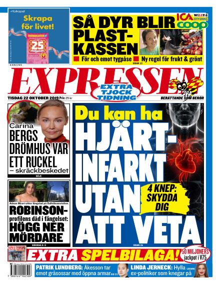 Expressen October 22, 2019 00:00