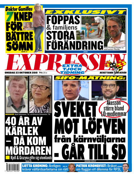 Expressen October 23, 2019 00:00