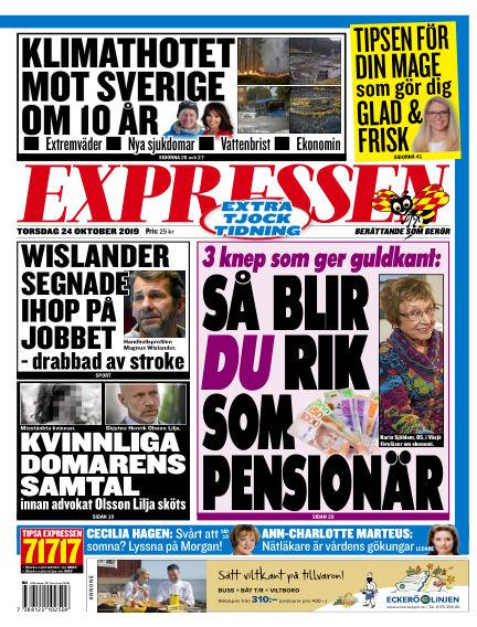 Expressen October 24, 2019 00:00