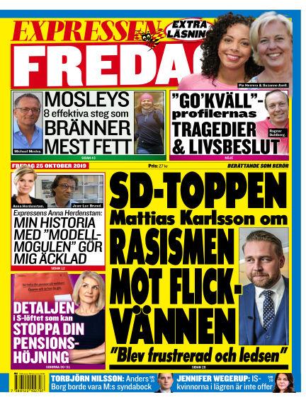 Expressen October 25, 2019 00:00