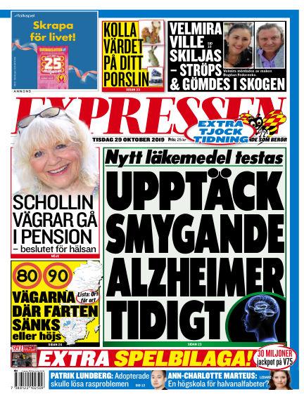 Expressen October 29, 2019 00:00