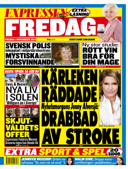 Expressen November 01, 2019 00:00