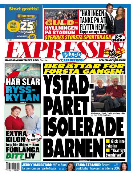 Expressen November 04, 2019 00:00