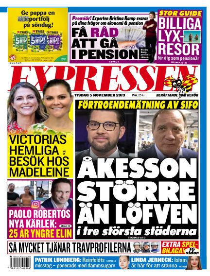 Expressen November 05, 2019 00:00