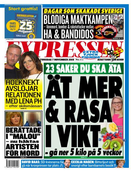 Expressen November 07, 2019 00:00