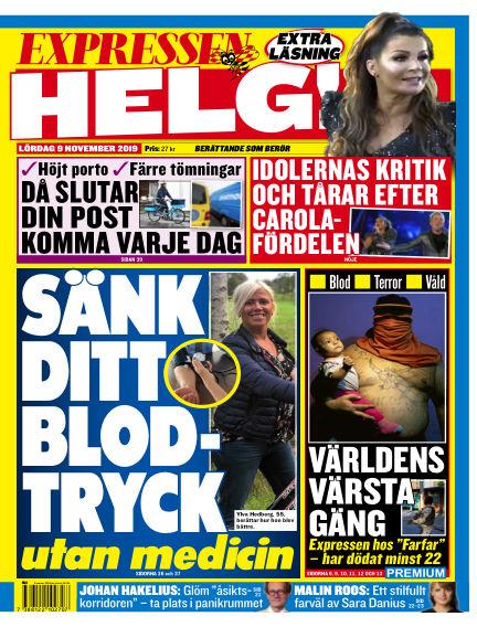 Expressen November 09, 2019 00:00