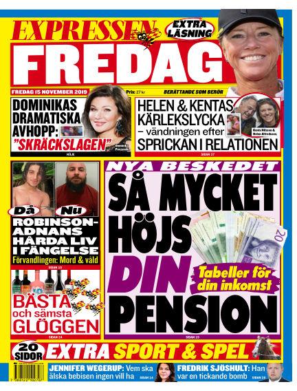 Expressen November 15, 2019 00:00