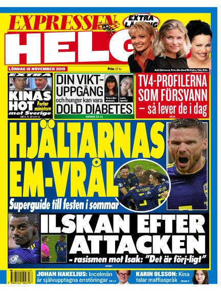 Expressen November 16, 2019 00:00
