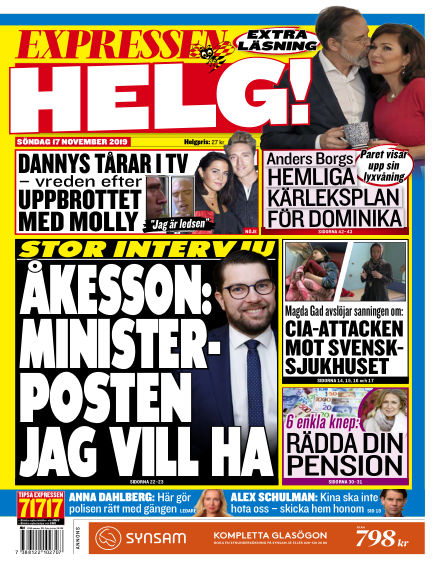 Expressen November 17, 2019 00:00