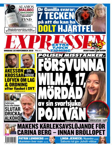 Expressen November 20, 2019 00:00