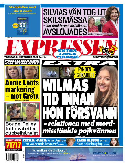 Expressen November 21, 2019 00:00
