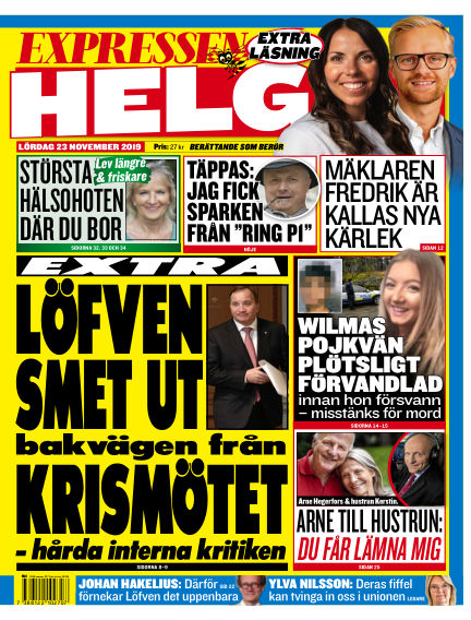 Expressen November 23, 2019 00:00