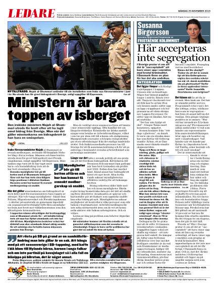 Expressen November 25, 2019 00:00